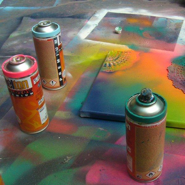 Streetart und Graffiti in den Sommerferien