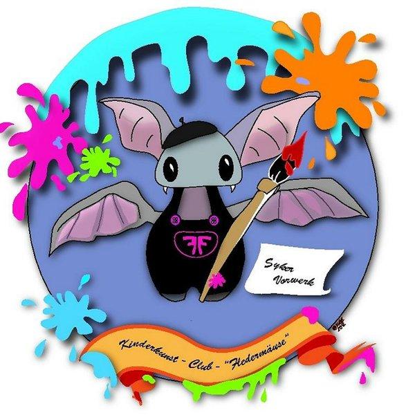Kinderkunst-Club Fledermäuse