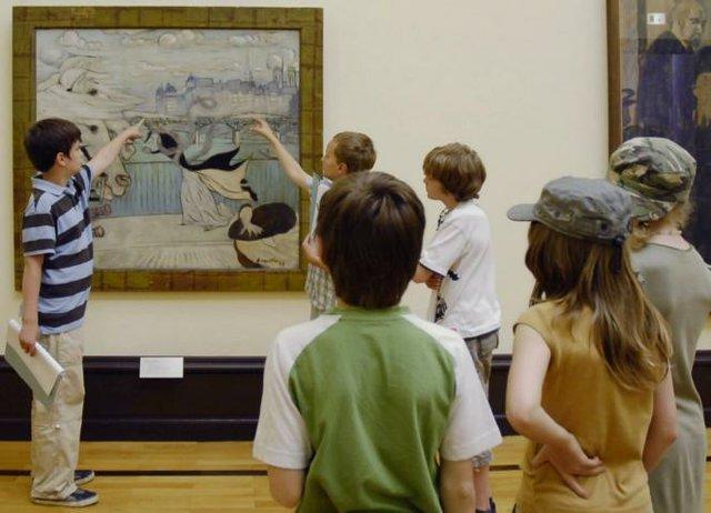 Kinder führen Kinder Kunsthalle