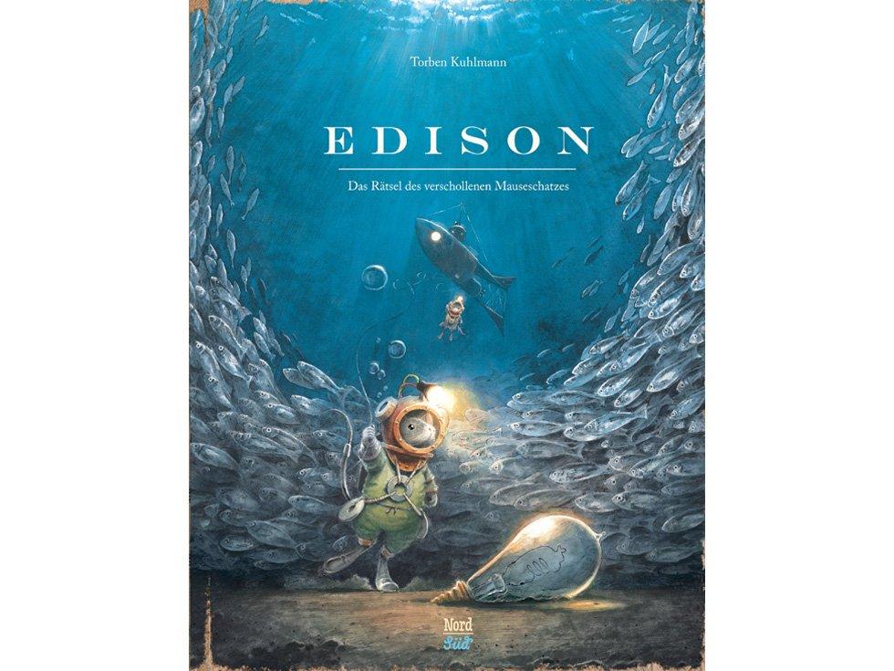 COVER Edison: Das Rätsel des verschollenen Meeresschatzes 4x3