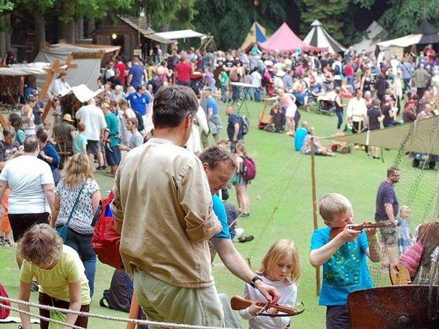 Grosses Fest im Wildpark Schwarze Berge
