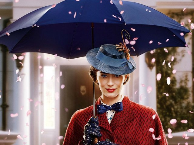 Mary Poppins 2018 Emily Blunt