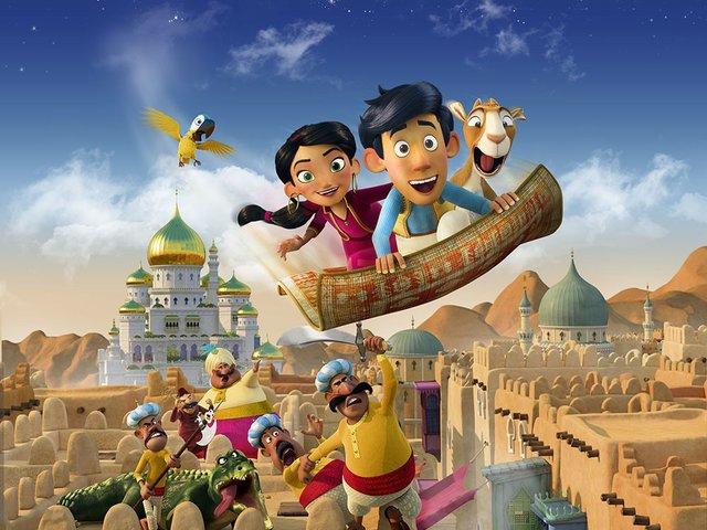 Der kleine Aladin und der Zauberteppich