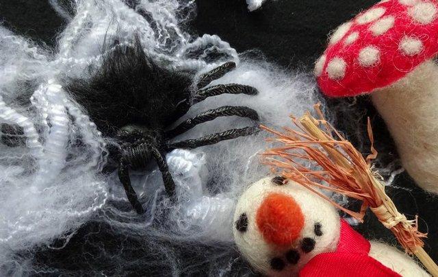 Halloween Filzen